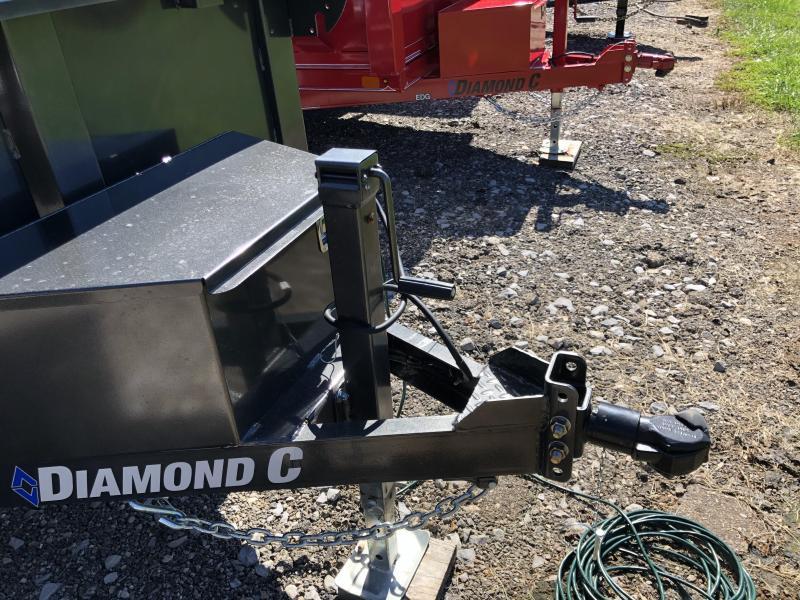 2020 Diamond C Trailers EDS152 08X60 Dump Trailer