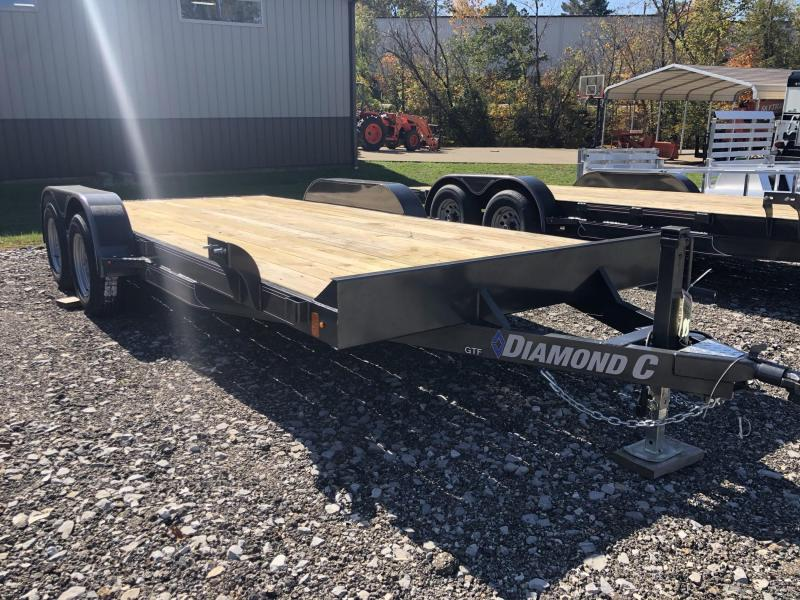 2021 Diamond C Trailer GTF235 18X83 Car Trailer