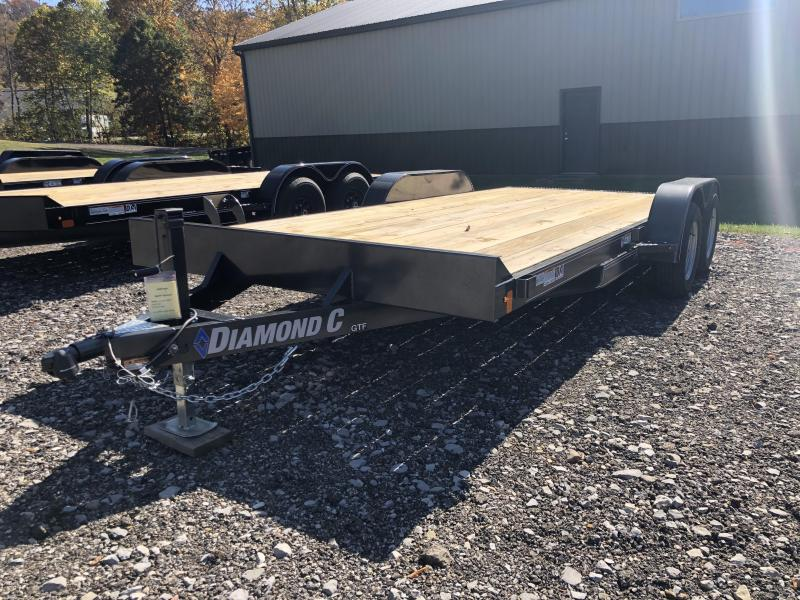 2021 Diamond C Trailer GTF235 18X83 Car Trailer