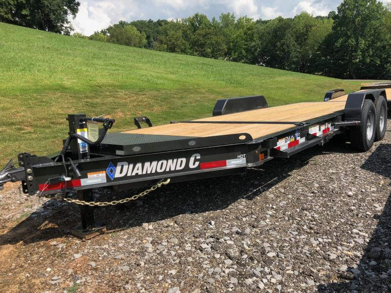 2020 Diamond C Trailers HDT207 20X82 Equipment Trailer