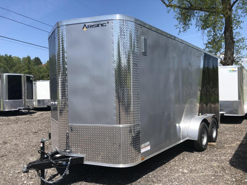 2021 Arising 716VTRSM 2-TONED Enclosed Cargo Trailer w/ 7' Interior Height
