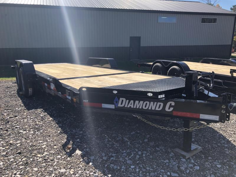 2021 Diamond C Trailers HDT207 20X82 Equipment Trailer