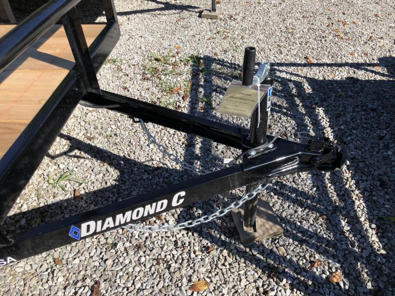 2020 Diamond C Trailers GSA135 10X77 Utility Trailer