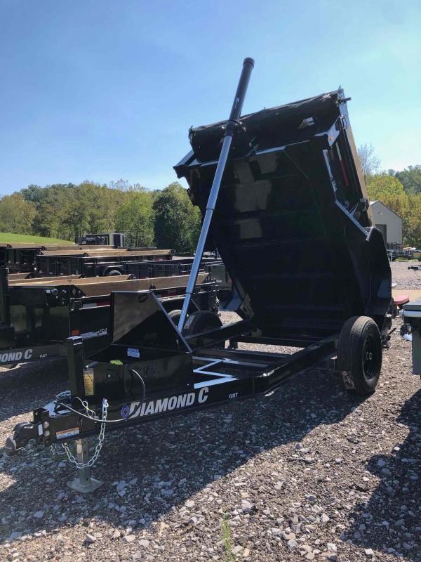 2021 Diamond C Trailers GST106 8X60 Dump Trailer
