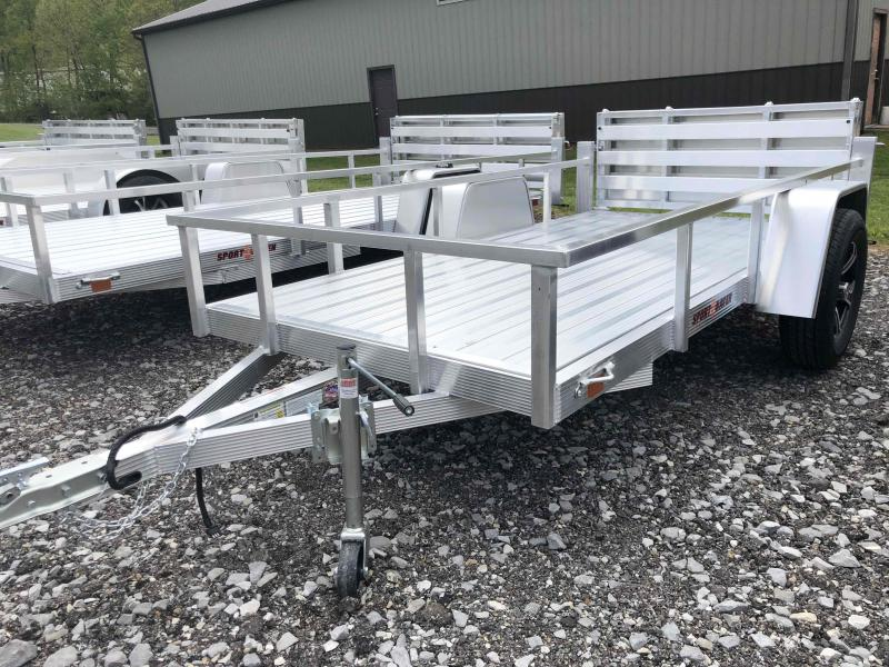 2021 Sport Haven AUT510D-F Aluminum Utility Trailer