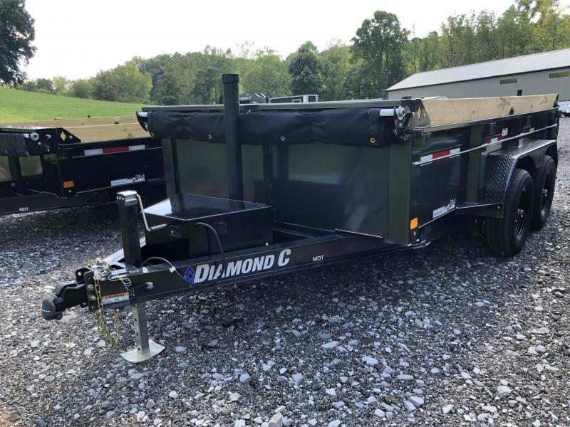 2021 Diamond C Trailers MDT206 12X77 Dump Trailer