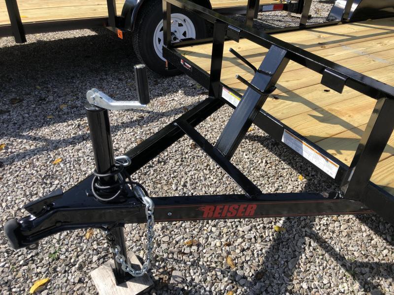 2021 Reiser L7712SA Utility Trailer