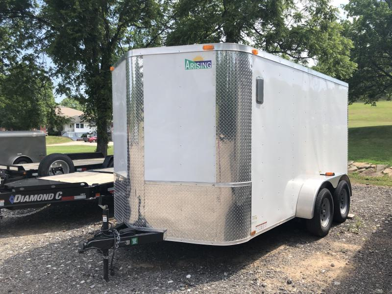 *RENTAL* 2016 Arising 72VTRW Enclosed Cargo Trailer
