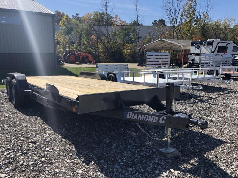 2021 Diamond C Trailer GTF252 20X82 Car Trailer