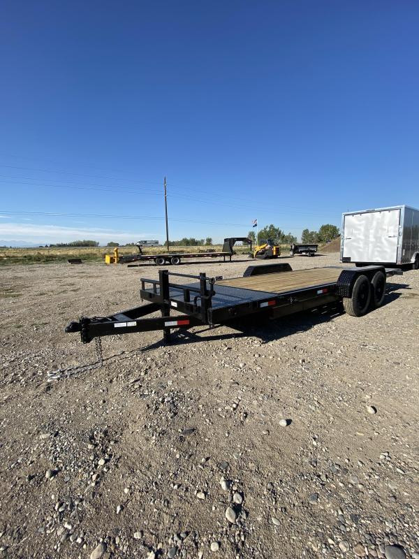 2021 STAG Trailers 14K Tilt Equipment Trailer