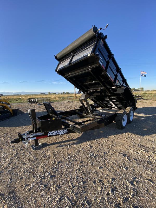 2021 Anderson Manufacturing D7148TLP Dump Trailer