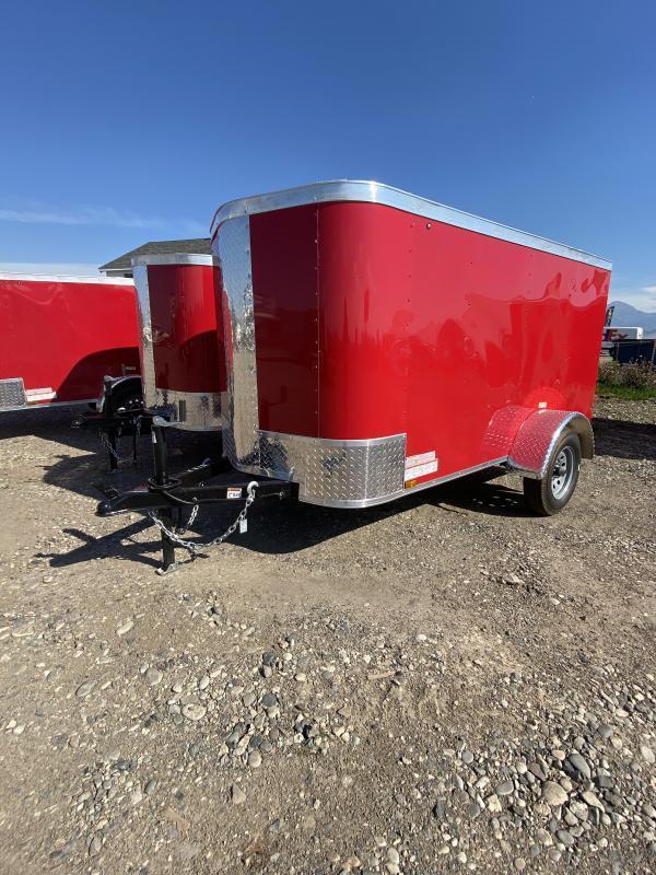 2021 Arising 4 X 8 Enclosed Cargo Trailer