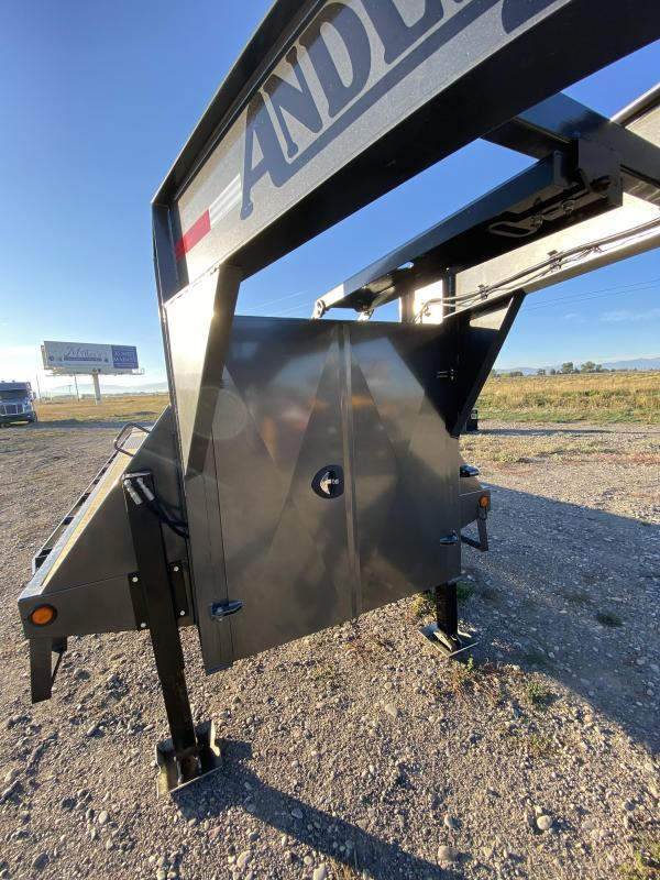 2021 Anderson Manufacturing G83010TWX Equipment Trailer