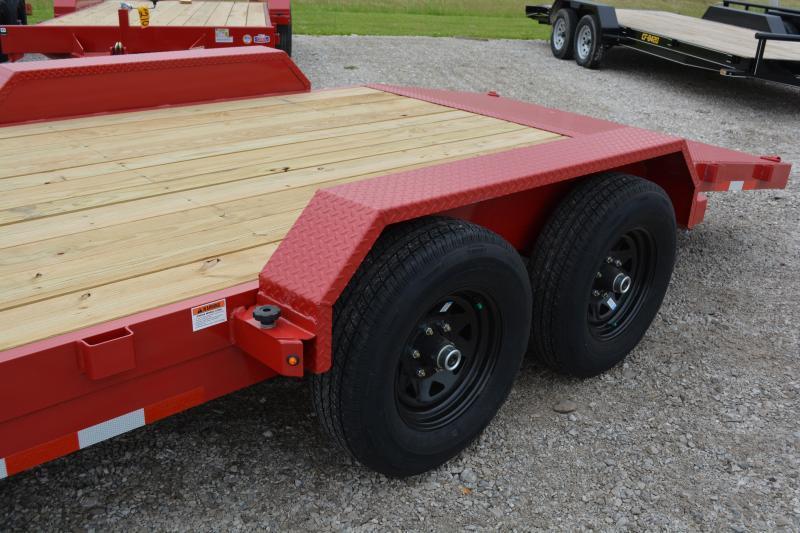 2021 Cam Superline P5CAM20CH (5 Ton Car Hauler Trailer 20FT Wood Deck) Flatbed Trailer