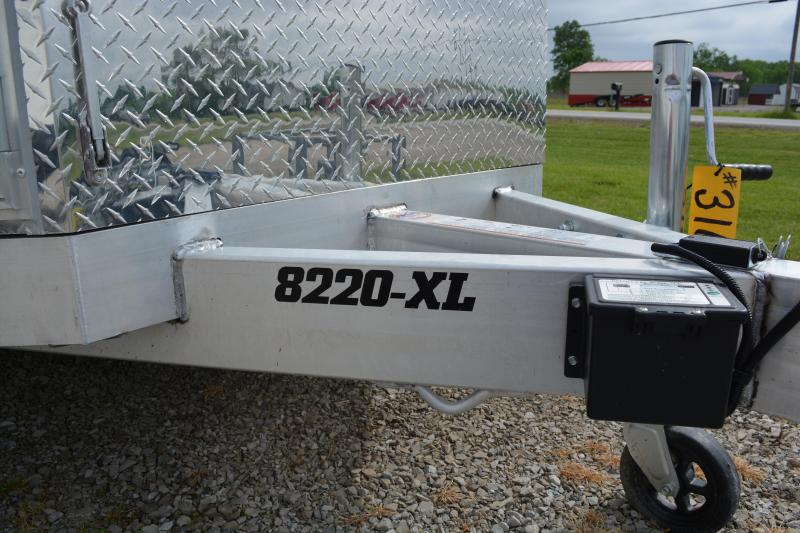 "2021 Aluma 8200 XL Executive Series  82""X20'"