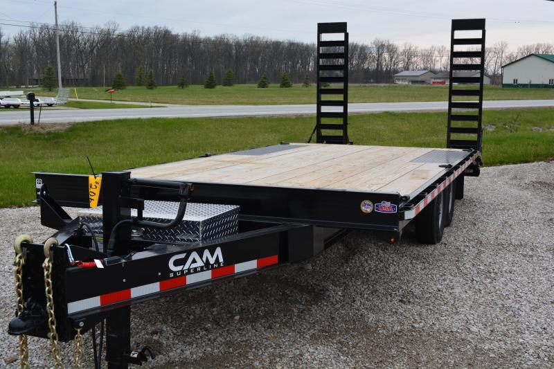 2019 Cam Superline 6CAM820DO Standard Duty Deckover Construction Trailer Equipment Trailer