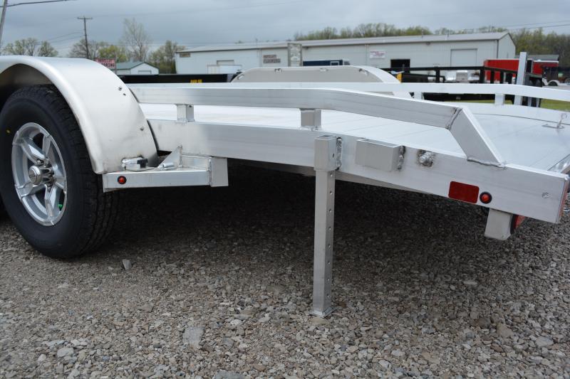 """2022 Aluma 7816TA-EL-R-TR-RTD Utility Trailer 6'6""""X16'"""