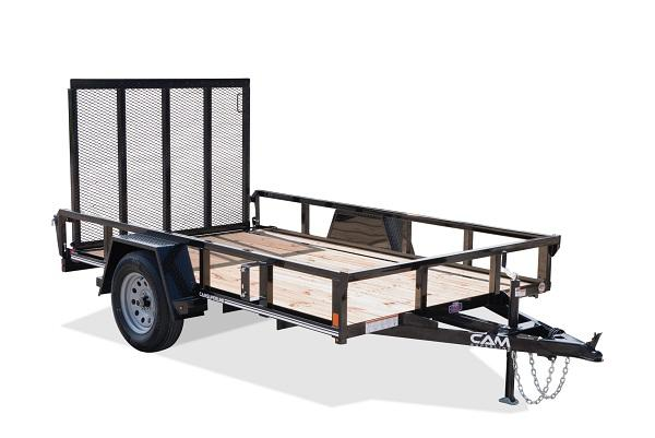 2019 Cam Superline 6 x 12 SA Tube Top Utility Trailer
