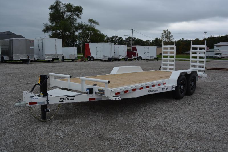 2022 Fox Trail 82' Wide 14000 lbs GVWR 20' Equipment Trailer