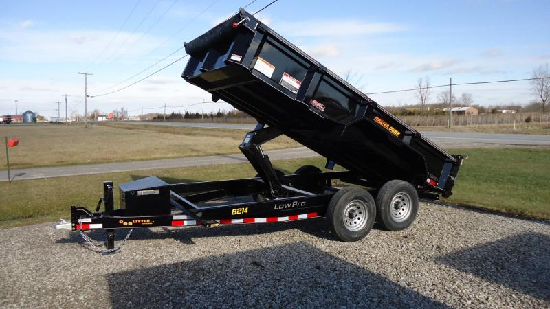 "2020 Doolittle Trailer Mfg Masterdump 8200 Series 82"" x 14 Tandem Axle 14K Dump Trailer"