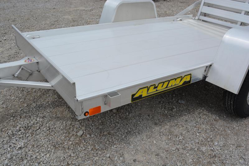 "2022 Aluma 548-BT Utility Trailer 4'6""X8'"