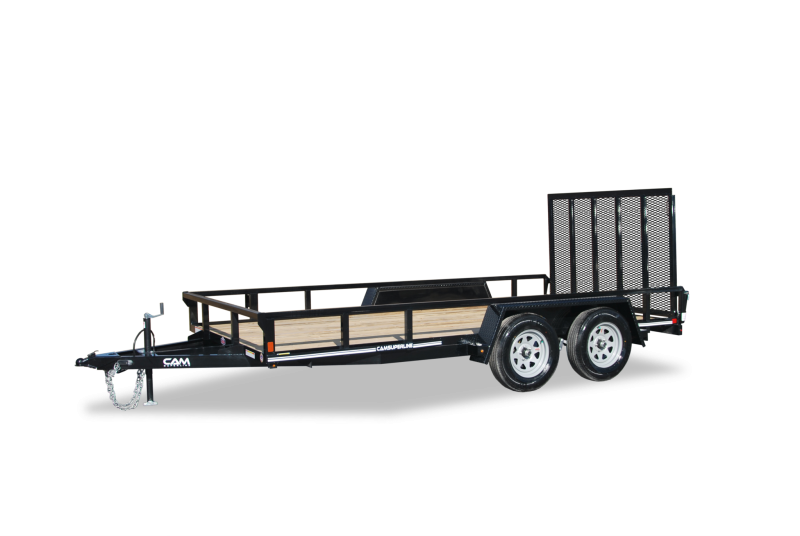 2019 Cam Superline 7 x 14 TA Utility Utility Trailer