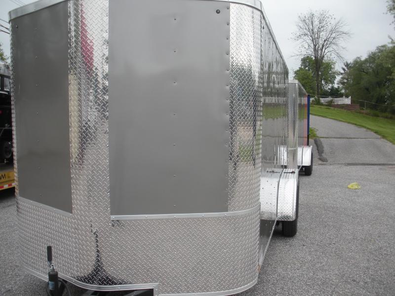 2020 Arising 7' X 16' 7K 6'6 w/E-Track Enclosed Cargo Trailer