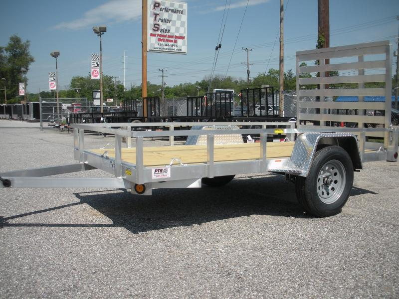"2020 Quality Steel and Aluminum 62"" X 10' Aluminum Utility Trailer"