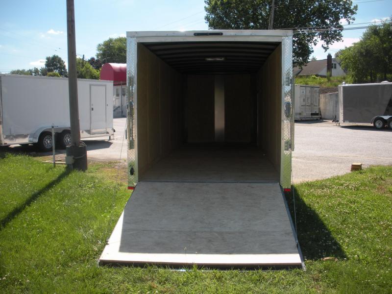 2021 Arising 7' X 20' White 6'3' Interior Height Enclosed Cargo Trailer