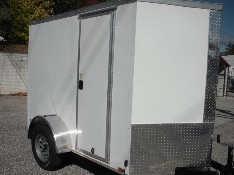 2021 Anvil 5' X 8' X 6' Hgt. 3K  Enclosed Cargo Trailer