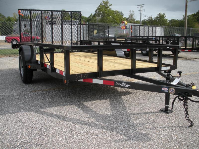 2020 Down 2 Earth Trailers 6X12 Utility Trailer