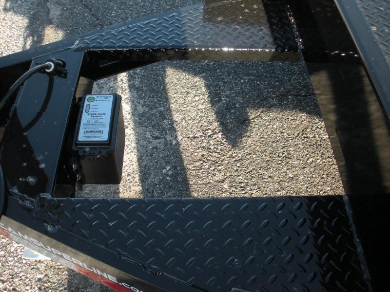 """2021 Cam Superline 82"""" X 18' 10K Steel Deck  Open Car / Racing Trailer"""