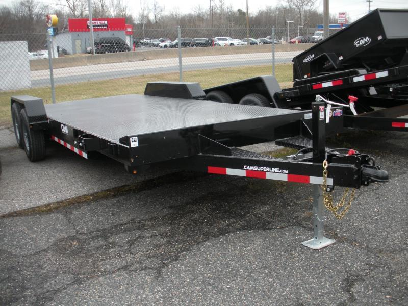 "2020 Cam Superline 82"" X 18' 10K Steel Deck  Open Car / Racing Trailer"