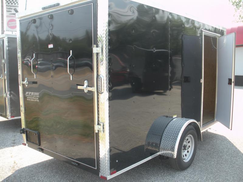 2021 Arising 6' X 12' 3K  Enclosed Motorcycle Cargo Trailer