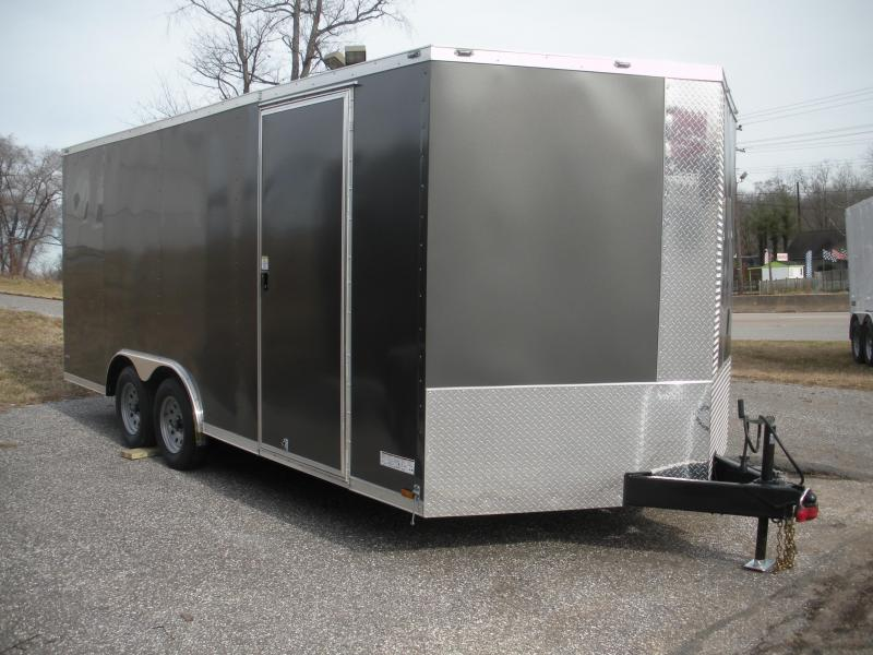 2021 Anvil 8.5' X 18' 7K Car / Racing Trailer