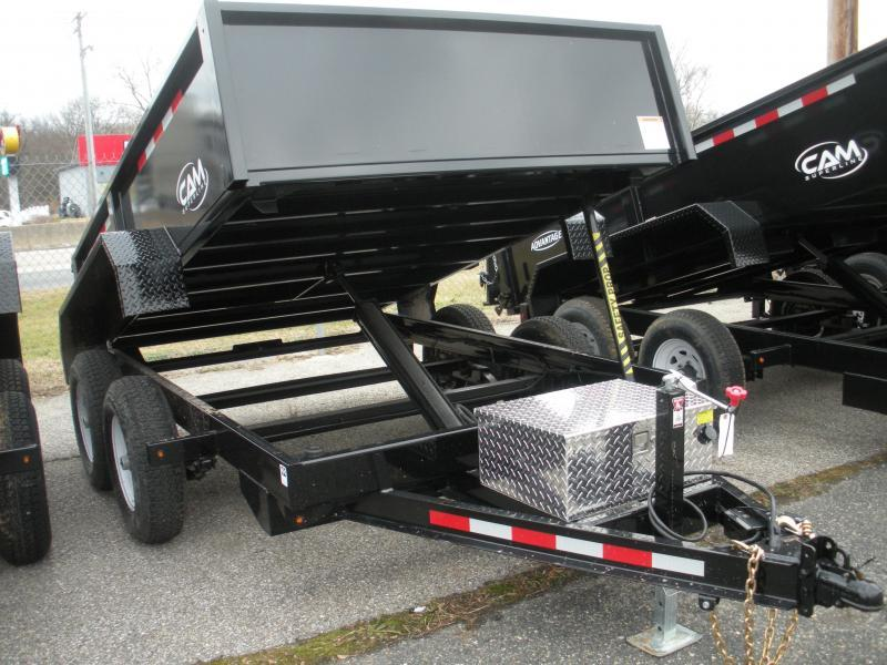 2021 Cam Superline 6' X 10' 10K Low Profile Dump Trailer *Includes 3 Way Gate*