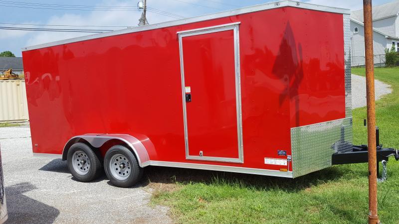 2020 Anvil 7' X 16'  Enclosed Cargo Trailer