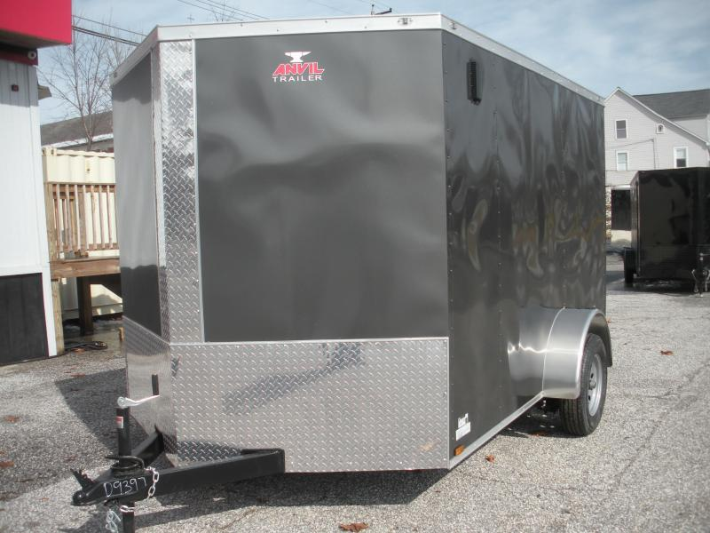 2020 Anvil 7' X 10' Single Axle Enclosed Cargo Trailer