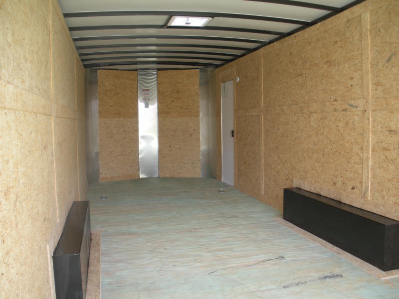 2021Arising 8.5' X 24' X 7' Height *10K* Charcoal/Black Enclosed Cargo Car Trailer