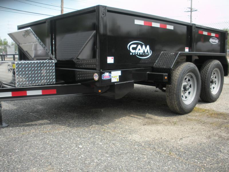 2021 Cam Superline 6' X 10' 8K Low Profile Dump *Includes 3 Way Gate*