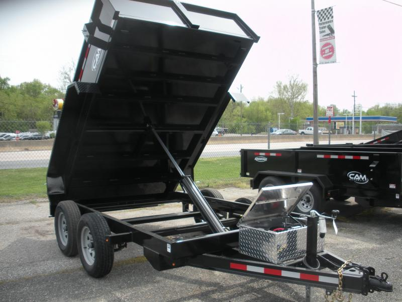 2020 Cam Superline 6' X 10' 8K Low Profile Dump *Includes 3 Way Gate*