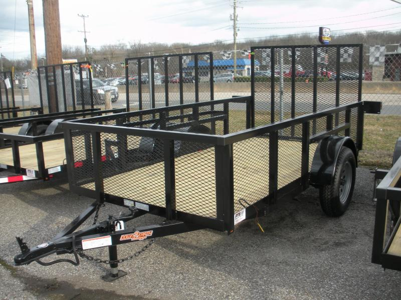 "2020 Down 2 Earth Trailers 5' X 10' 3K with 24"" Mesh Sides Utility Trailer"