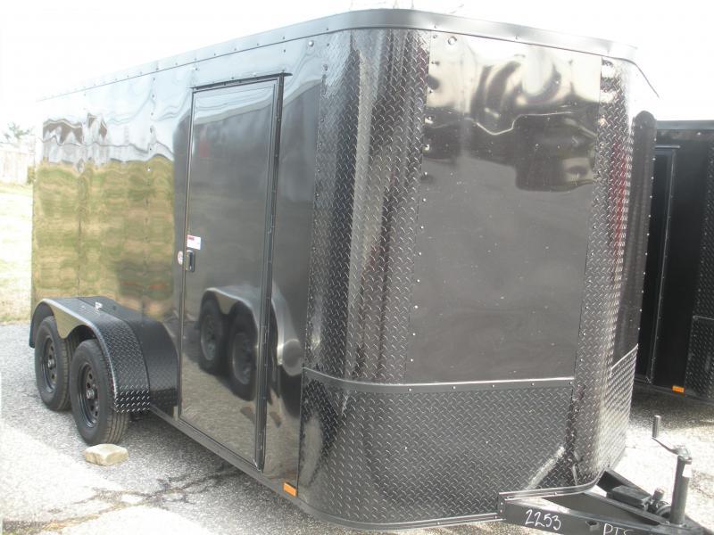 2021 Arising 7' X 14' Black & Black Trim Pkg. Enclosed Cargo Trailer