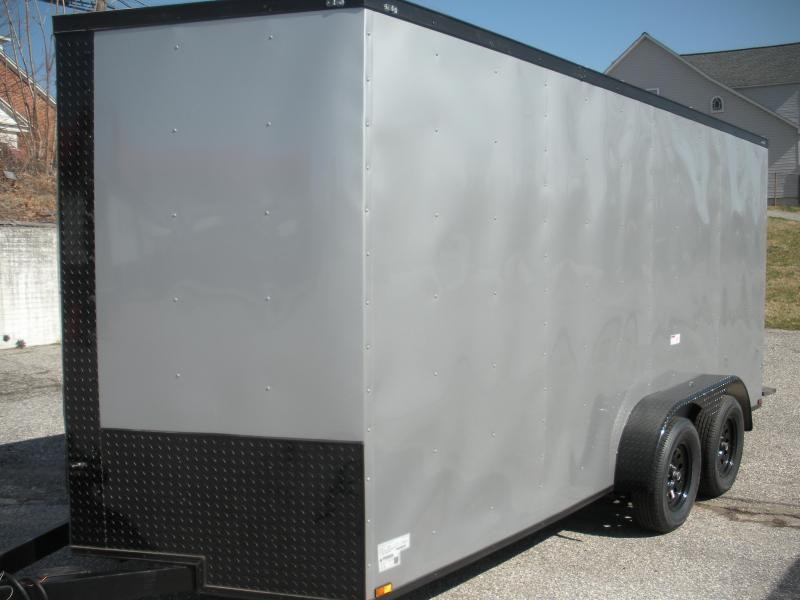 "2021 MCTL 7' X 16' Black Out Package*6'9"" Interior Height*Enclosed Cargo Trailer"