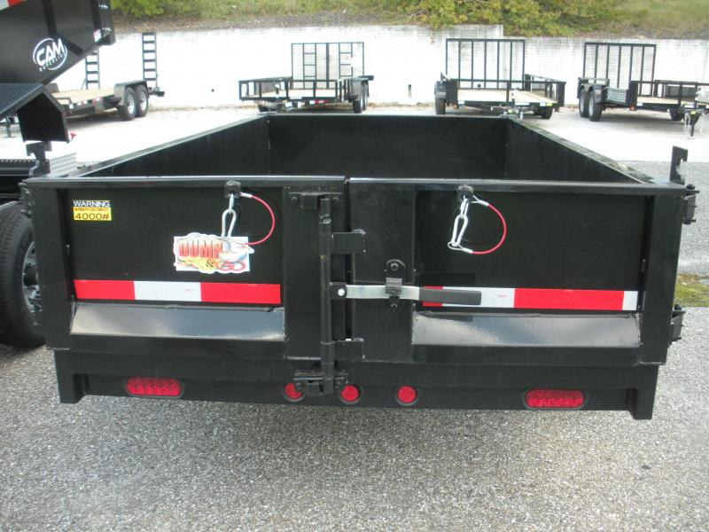Due in Mid March*Reserve Now!! 2021 Quality Steel and Aluminum 5' X 10' 6K Dump Trailer
