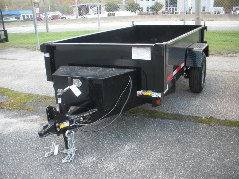 2020 Quality Steel and Aluminum 5' X 10' 6K Dump Trailer