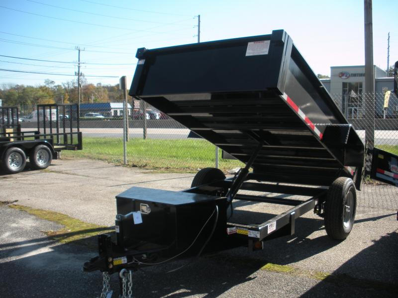 2021 Quality Steel and Aluminum 5' X 10' 6K Dump Trailer