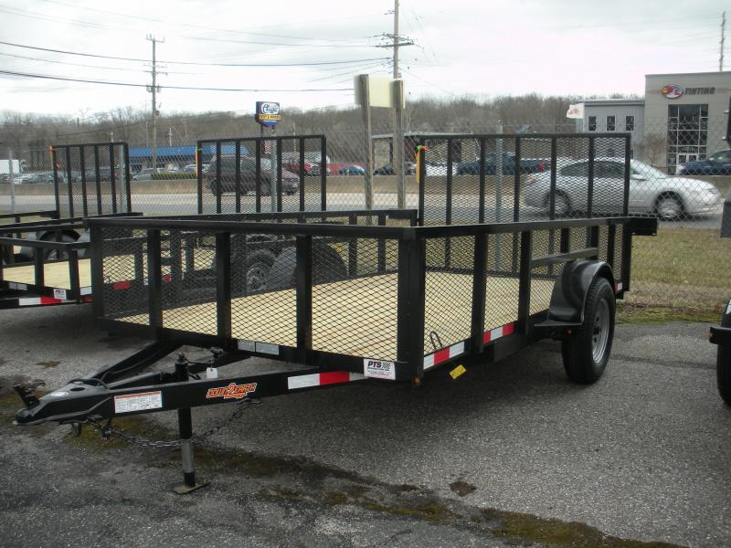 "2020 Down 2 Earth Trailers 76"" X 12' 3K with 24"" Mesh Sides Utility Trailer"