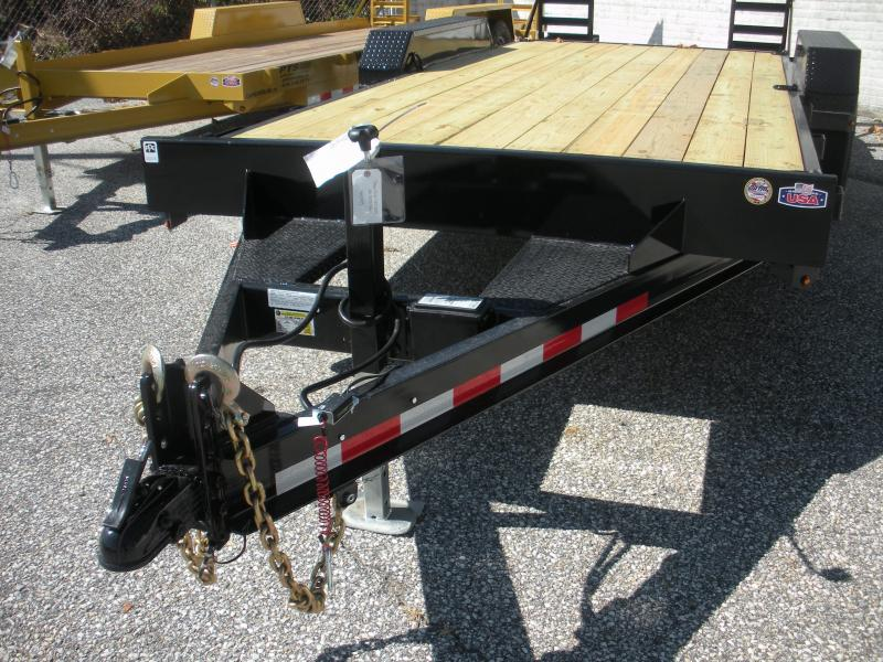 "2020 Cam Superline 82"" X 18' 14K Channel Frame with Beavertail  Equipment Trailer"