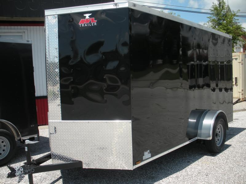 2020 Anvil 6' X 12' Enclosed Cargo Trailer